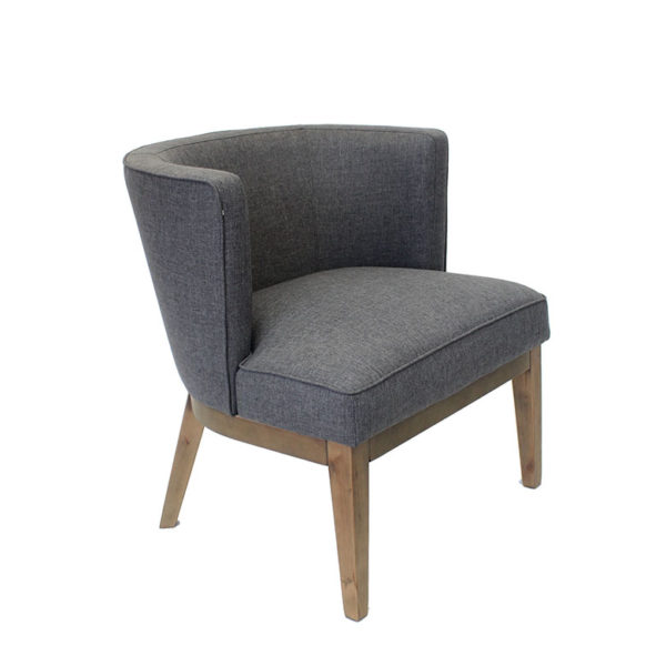 Ava Driftwood Oversized Accent Chair Mcaleer S Office