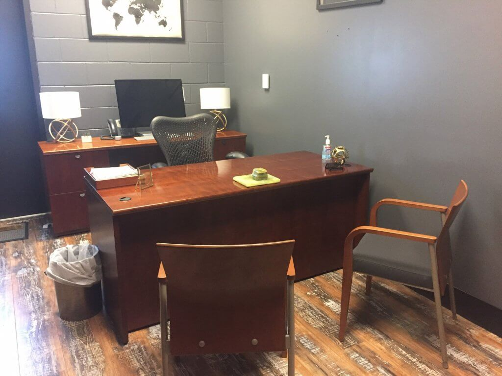 Used National Hiland Private Office