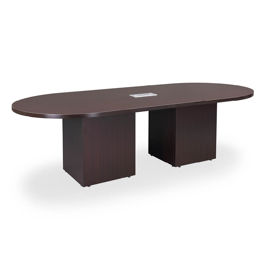 8 Racetrack Conference Table With Cube Bases Colors
