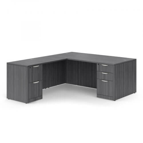 OS Laminate L Desk by Office Source
