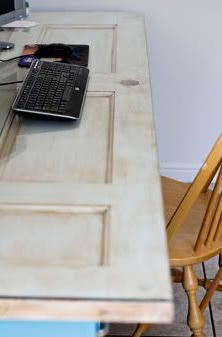 ... Old door as a desk top & DIY Friday: Build Your Own File Cabinet Desk - McAleer\u0027s Office ...