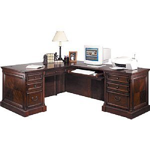 Mount View L-Shaped Desk with Right Hand Facing Return
